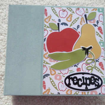 6x6 RecipeBook Scrapbook Album