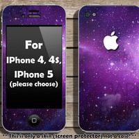 BUY 2 GET 1 FREE - Galaxy skin for Iphone - screen protector