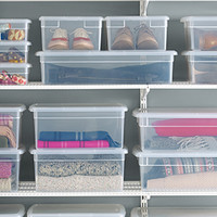 The Container Store > Our Clear Storage Boxes