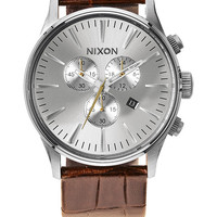The Sentry Chrono Leather | Watches | Nixon Watches and Premium Accessories