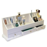 Large Personal Organizer in White