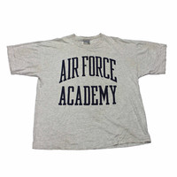 Vintage Oversized Air Force Academy Shirt Made in USA Mens Size XL