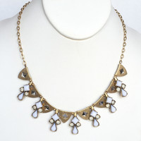Spade Amour Statement Necklace Set