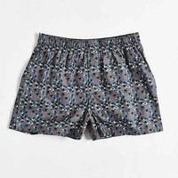 Ditsy Floral Woven Boxer- Grey Multi