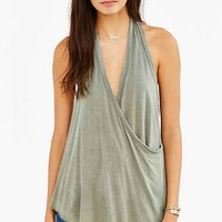 Truly Madly Deeply Wrap Halter Top-
