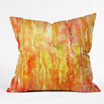 Rosie Brown Shower of Color Throw Pillow