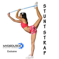 Stretching Strap for Cheerleaders Flexibility Stunt Strap Band for Stretching