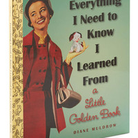 ModCloth Vintage Inspired Everything I Need to Know I Learned from a Little Golden Book