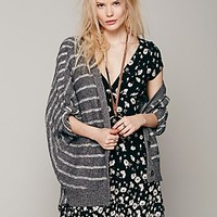 Free People Womens Guided Latitude Cardigan - Charcoal,