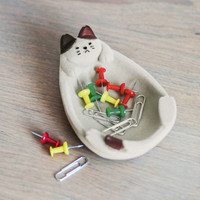 ModCloth Cats Kitty Little Things Jewelry Dish
