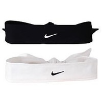 Nike Dri Fit Head Tie (Black, Osfm)