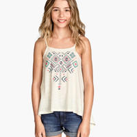 H&M Tank Top with Printed Design $9.95