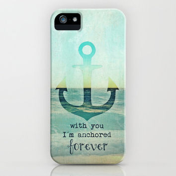 YOU ARE MY ANCHOR *** iPhone Case by M✿nika  Strigel	 | Society6 for iPhone 5 + 4 S + 4 + 3 GS + 3 G + SKIN + Pillows ** BRANDNEW