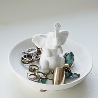 Small Curiosities Jumbo Ring Holder - Womens Scarves - White - One
