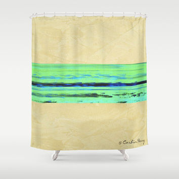 Movement 001 Shower Curtain by Corbin Henry