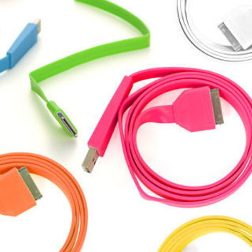 Innocable Flat Neon Cable - buy at Firebox.com