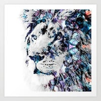 King of the Jungle Art Print by NKlein Design