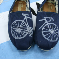 Bike TOMS Shoes by themattbutler on Etsy