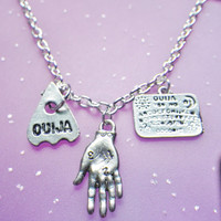Oracle Palm Reader Ouija board necklace