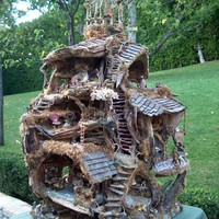 The Fairy Treehouse by Sunflowerhouse on Etsy