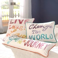 Inspire Me Pillow Cover