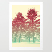 Winter's Voice Art Print by Caleb Troy