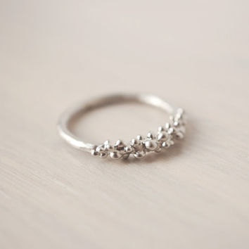Silver Baubles Ring