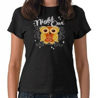 Night Owl T-shirts from Zazzle.com