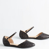 ModCloth Value of Versatility Flat in Black