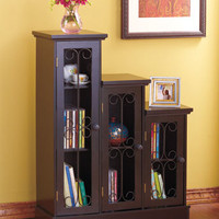 Triple Step Cabinets