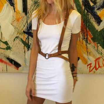 Tox Leather Harness Belt