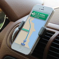 AIRFRAME Portable Car Phone Holder at Brookstone—Buy Now