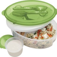 Oggi Chill To Go Food Container with Fork, Spoon and Removable Freezer Pack