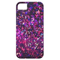 phone case pink and purple sparkles from Zazzle.com
