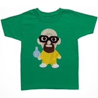 Handmade Felt Appliqued Breaking Bad Walter White Toddler Shirt