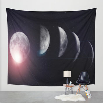 Moon (Variant) Wall Tapestry by DuckyB (Brandi)
