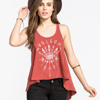 Volcom Broke En Womens Tank Brick  In Sizes