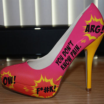 You-Don't-Know-Pain High Heels