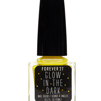 Neon Yellow Glow in the Dark Nail Polish