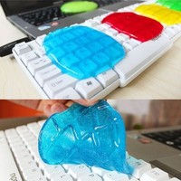 Gulu Multi-function Keyboard Cleaning Gel Sticky Jelly Computer Dust Remover Magic and Fun