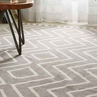 Assembly Home Diamante Printed Rug-