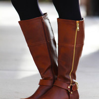 Salsa Riding Boot - Dark Brown
