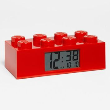 Boy's LEGO Brick Alarm Clock