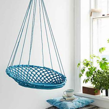Cuzco Hanging Chair- Turquoise One