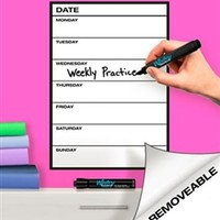 Weekly Whitey Board - Peel N Stick Supplies For College Best Dorm Products Fun Stuff For College Cool Dorm Items