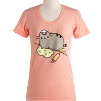 Pusheen the Limit Tee