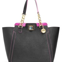 WILD THING LEATHER LARGE WING TOTE by Juicy Couture, O/S