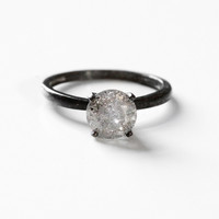 Custom Galaxy Diamond Ring 1 carat in Sterling or Gold - Ethically sourced - choose your diamond