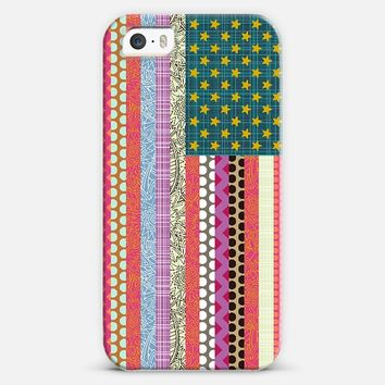 United States Beauty flag iPhone 5s case by Sharon Turner | Casetify