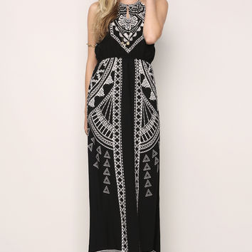 Self Tied Hater Maxi Dress